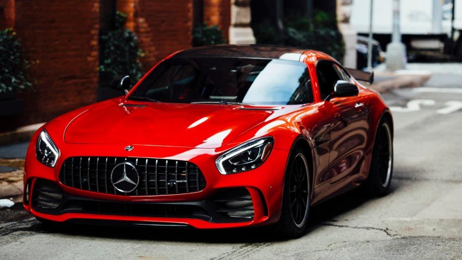 Mercedes-Benz car front view