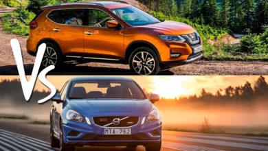Nissan vs volvo
