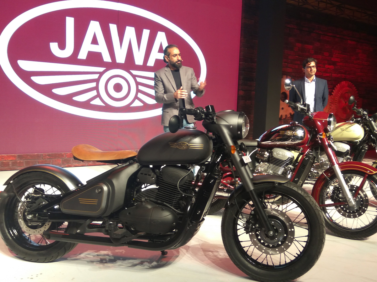 Jawa Motorcycles Launched in India; Starting Price at 1.55 ...
