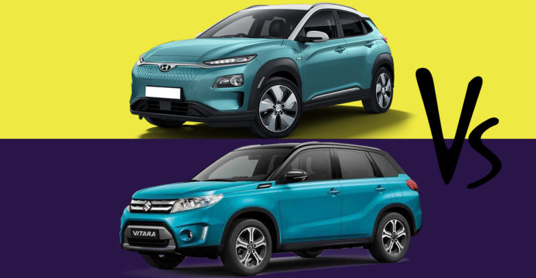 Hyundai Kona Electric Vs Maruti Grand Vitara