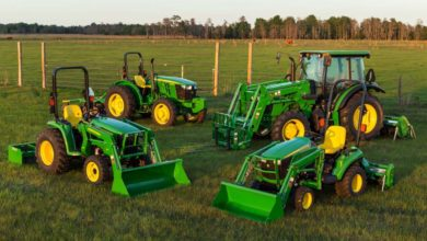 types of tractor