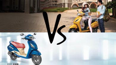Honda Activa 5g vs TVs Jupiter