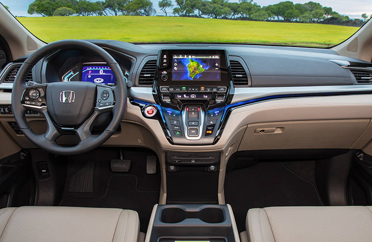 Honda Odyssey New Car Technology