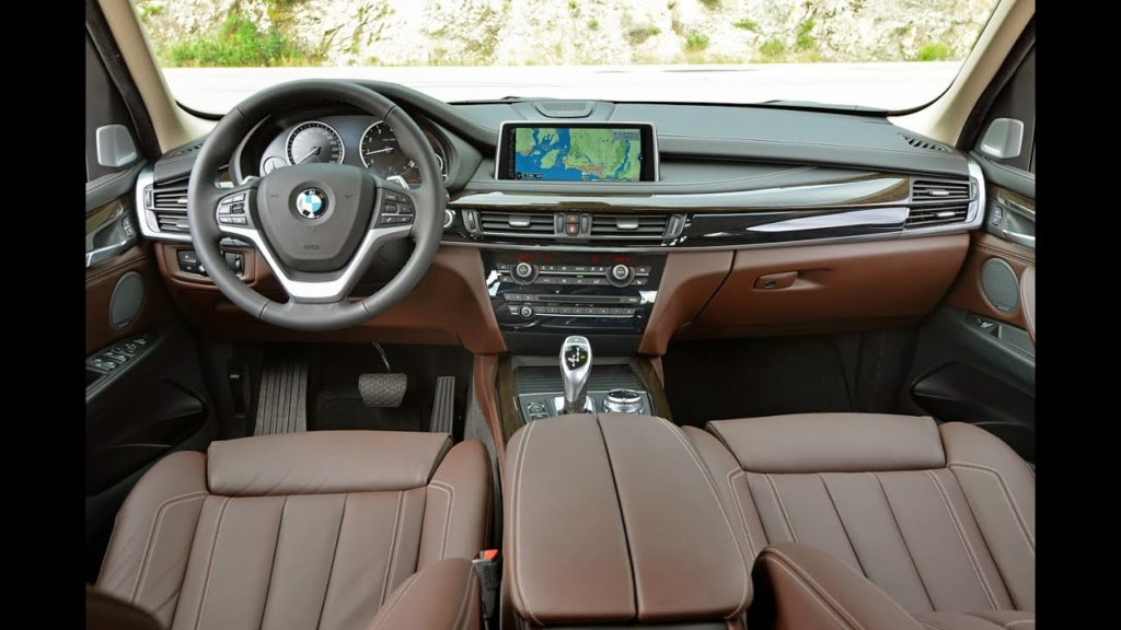 BMW 5X interior