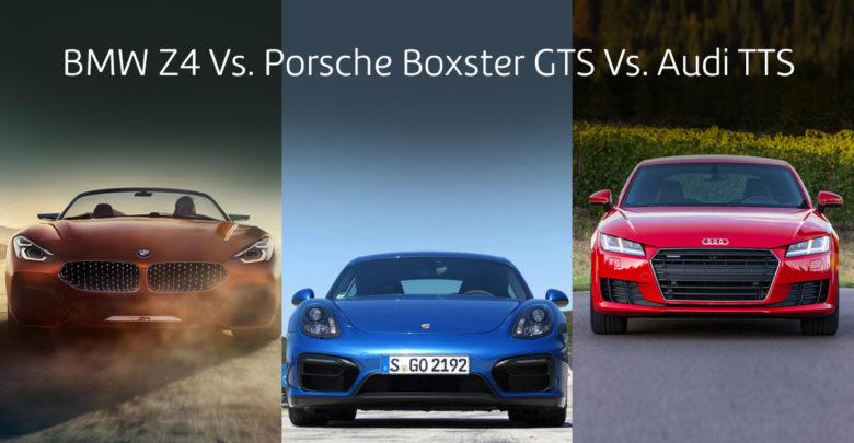 BMW Z4 Vs. Porsche Boxster GTS Vs