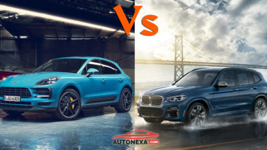 Porsche New Macan Vs BMW X3