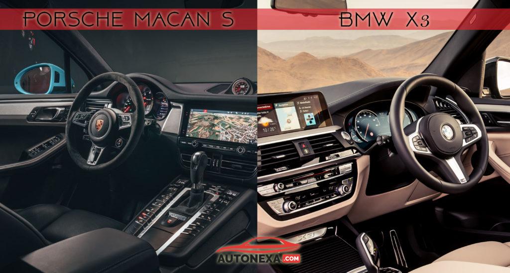 Porsche New Macan Vs BMW X3