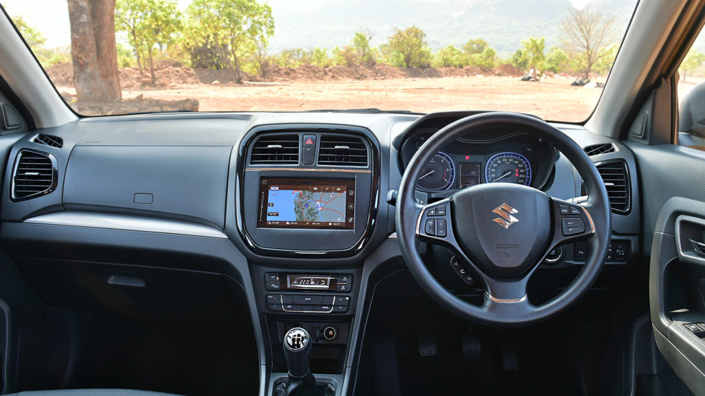 Maruti Suzuki Breeza Interior