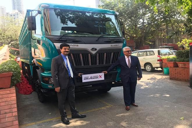 Mahindra Blazo X launch in india