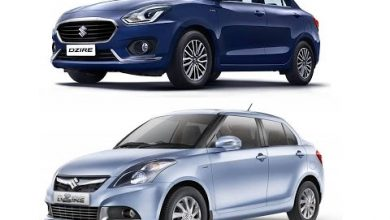 Prices of Swift Dzire