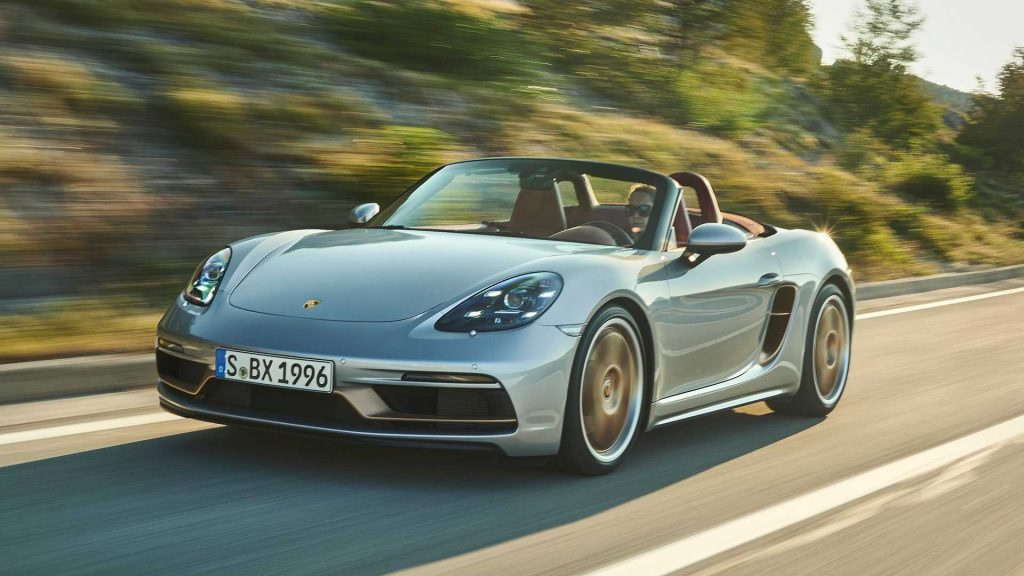 2021 Porsche 718 Boxster Limited edition