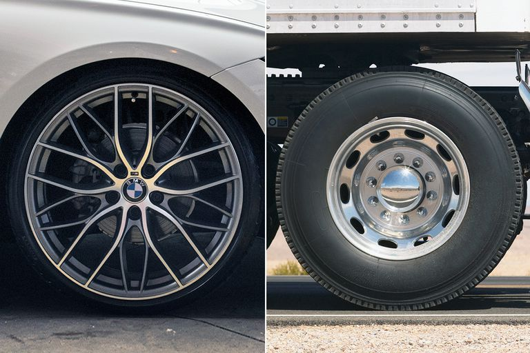 Difference between Alloy wheel and steel wheel