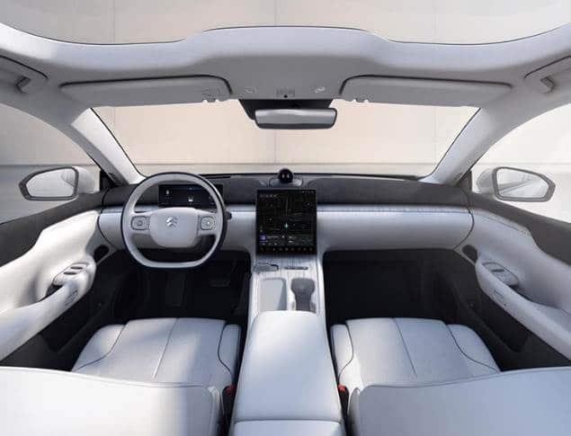 NIO ET7 sedan interior
