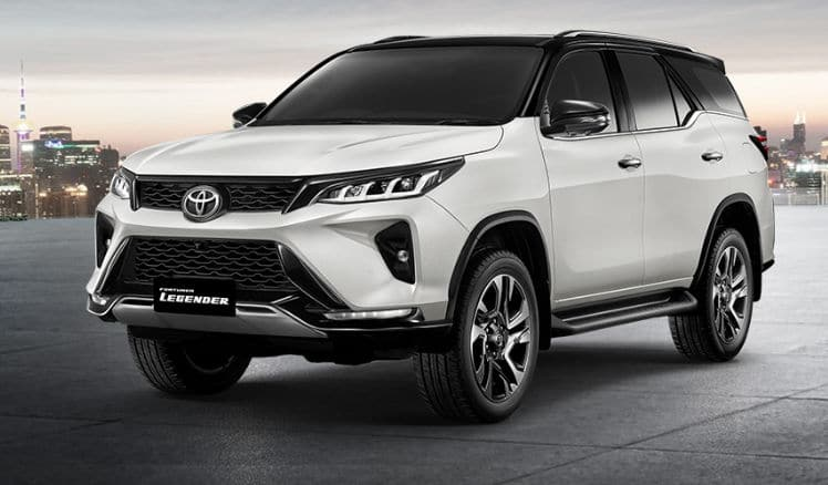 New Toyota Fortuner Legender