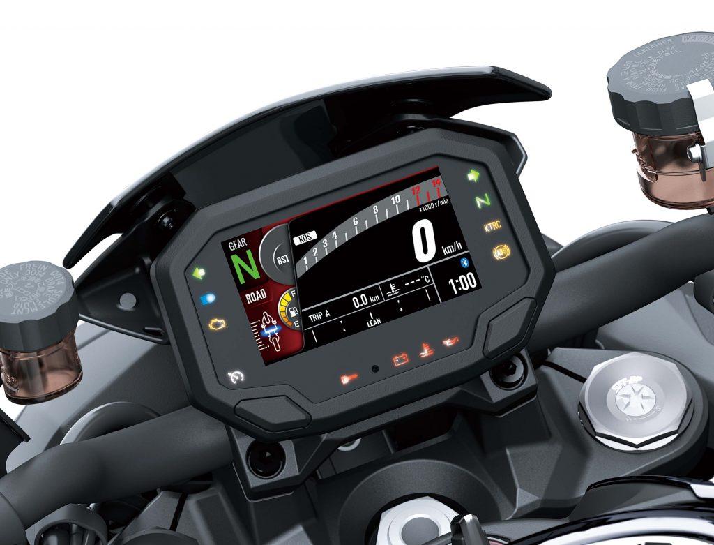 Kawasaki Z H2 speedometer