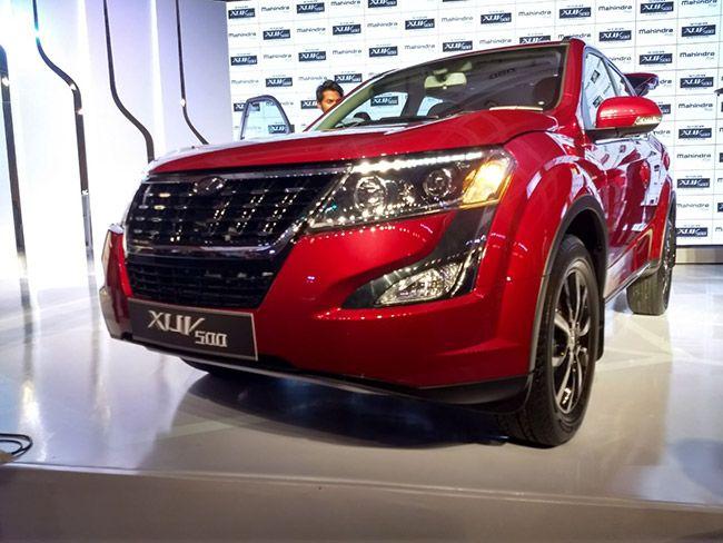 New SUV Mahindra XUV