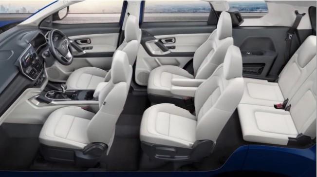 2021 Tata Safari Seating Layout