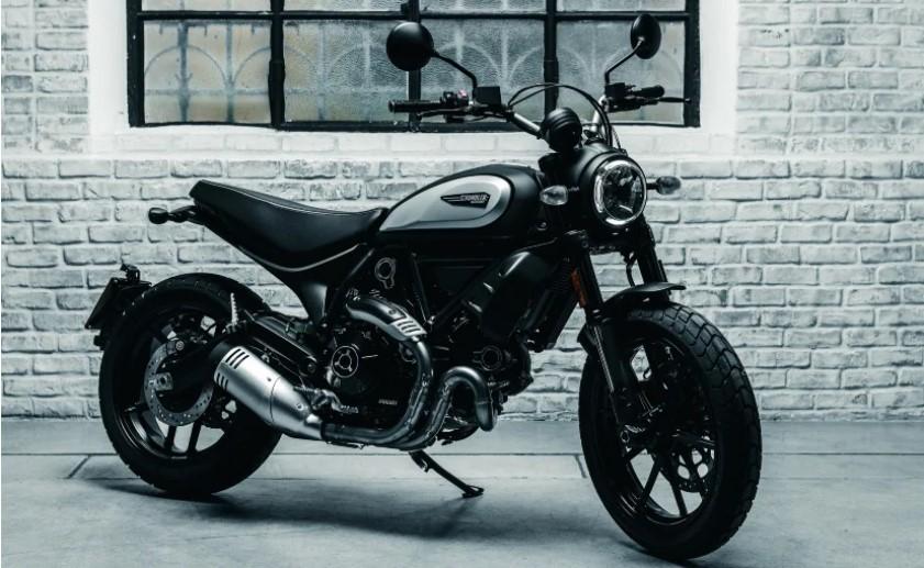BS6 Ducati scrambler icon dark