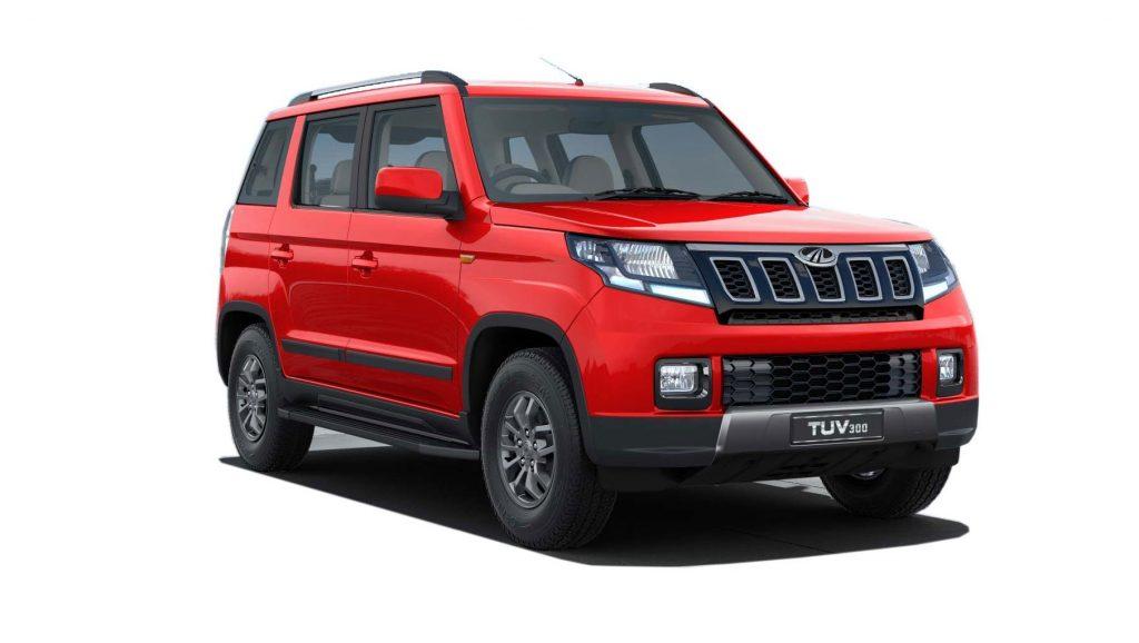 New SUV Mahindra TUV300 Facelift