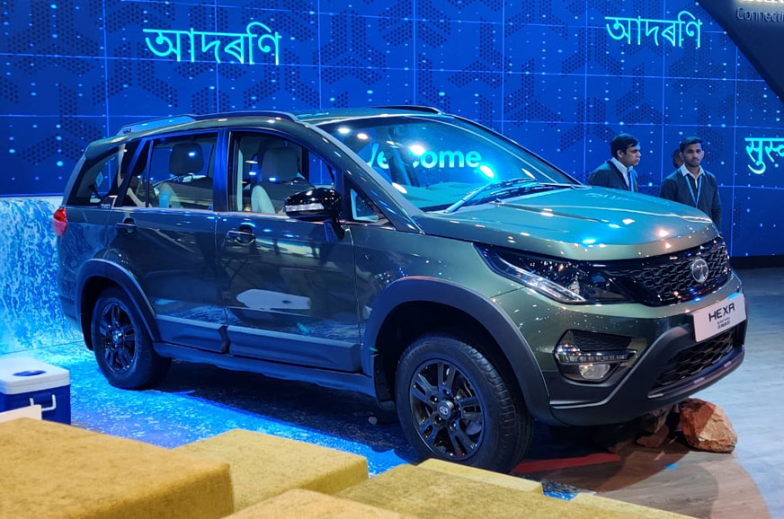 Tata Hexa Safari