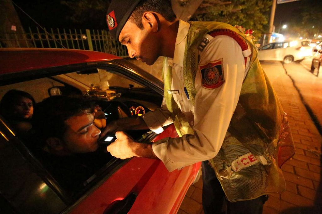 Do not drink and drive to avoid road accidents