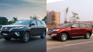 Toyota Fortuner vs Ford Endeavour Comparison
