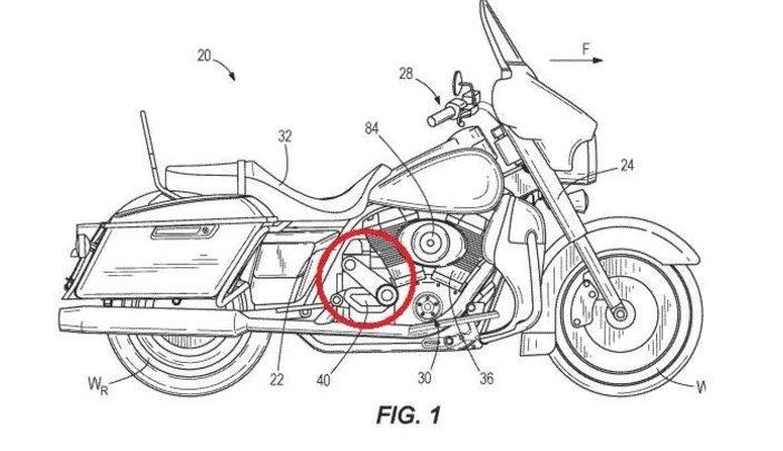 Harley-Davidson Patents Supercharged V-Twin Engine