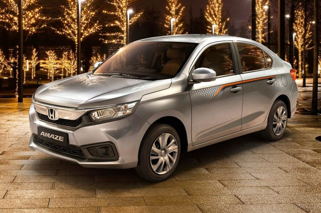 Honda Offers Discounts up to Rs. 15,000 on Honda Amaze Special Edition