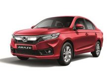 Honda offers discounts of up to Rs. 26,997 on Honda Amaze