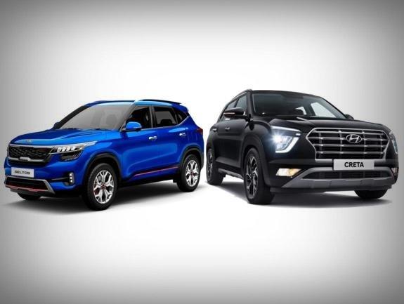 Hyundai Creta 2021 vs Kia Seltos 2021