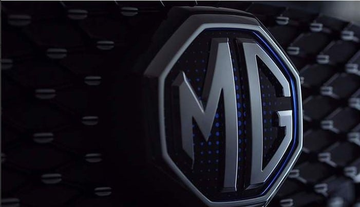 2021 MG ZS EV Grille and Logo