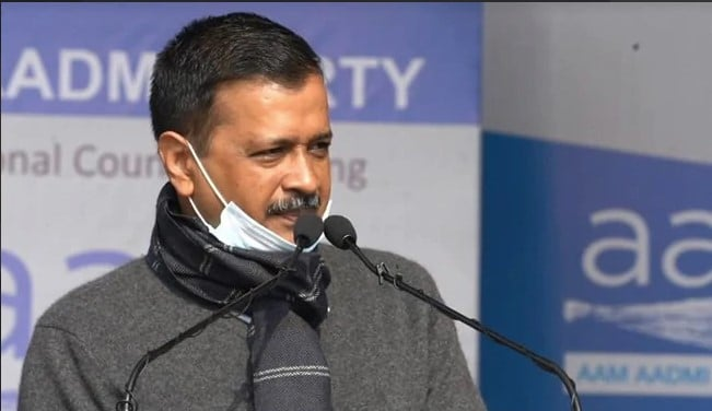 Arvind Kejriwal launching 'Switch Delhi' campaign