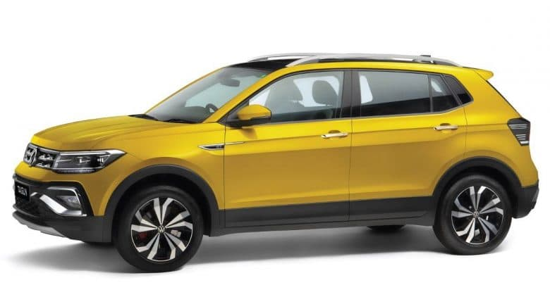 2021 Volkswagen Taigun side