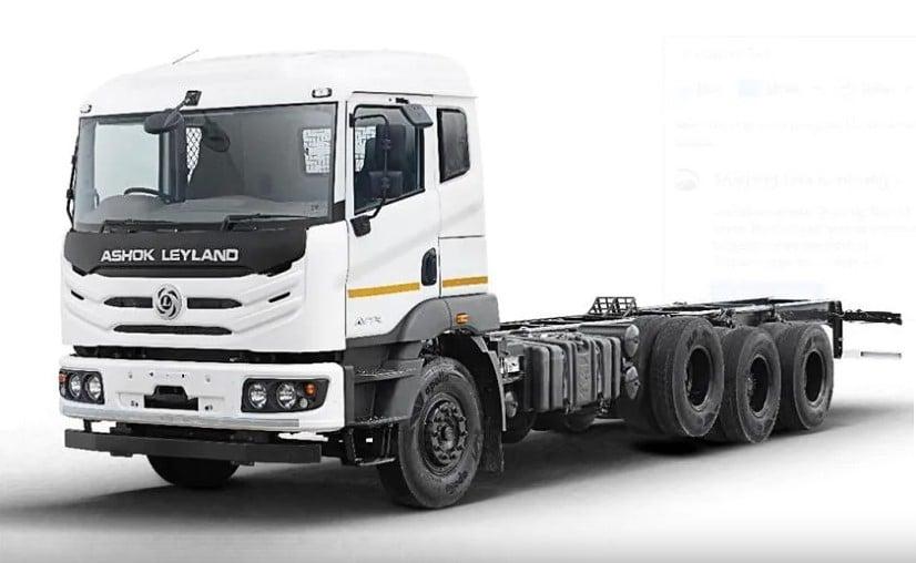 Ashok Leyland AVTR 4120 4-Axle Truck