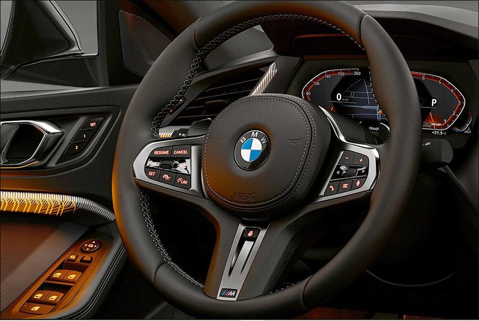 BMW 2 Series Gran Coupe 220i Sport steering wheel
