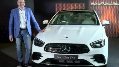 New Mercedes-Benz E-Class long wheelbase facelift