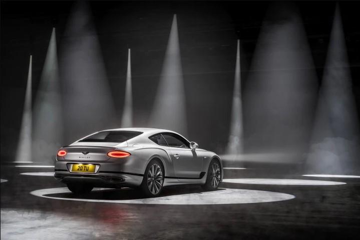 Bentley Continental GT Speed Rear View