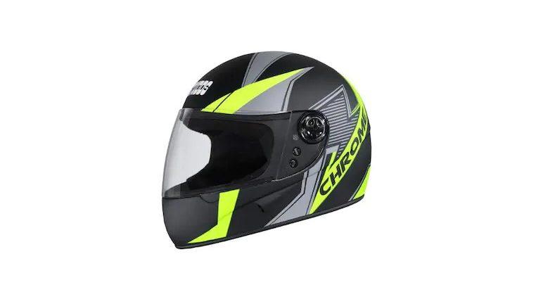 Studds Chrome D5 Decor Helmet
