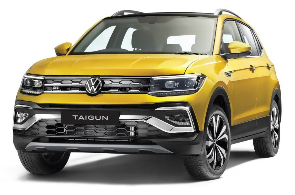 Volkswagen Taigun Front