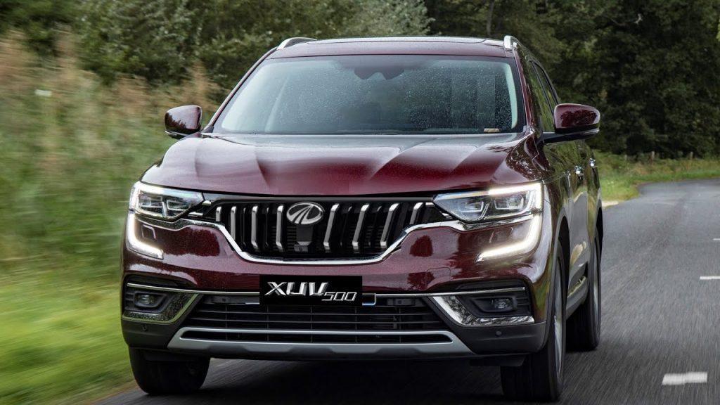 Mahindra XUV500 7 seater SUV