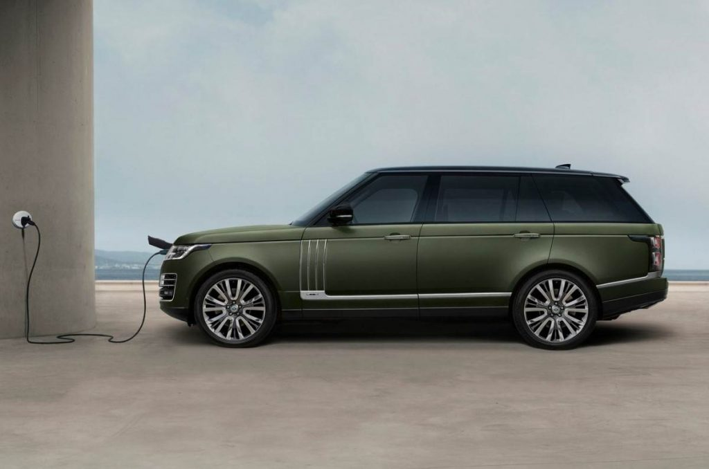 2021 Land Rover Range Rover SVAutobiography Ultimate charging