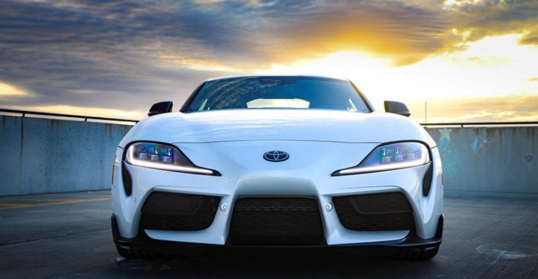 2021 Toyota Supra Front View