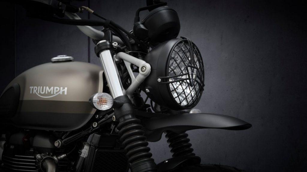 2021 Triumph Street Scrambler 900 Sandtorm Edition