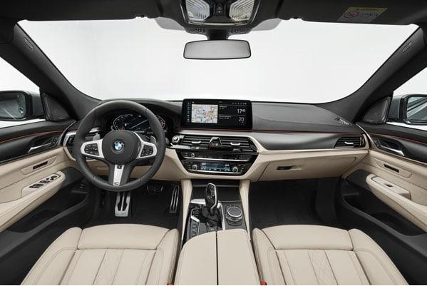 BMW 6 Series GT cabin