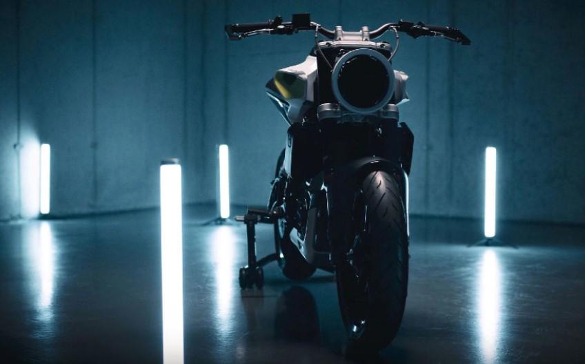 Husqvarna E-Pilen Concept Motorcycle front
