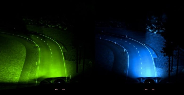 Ford's advanced lighting system