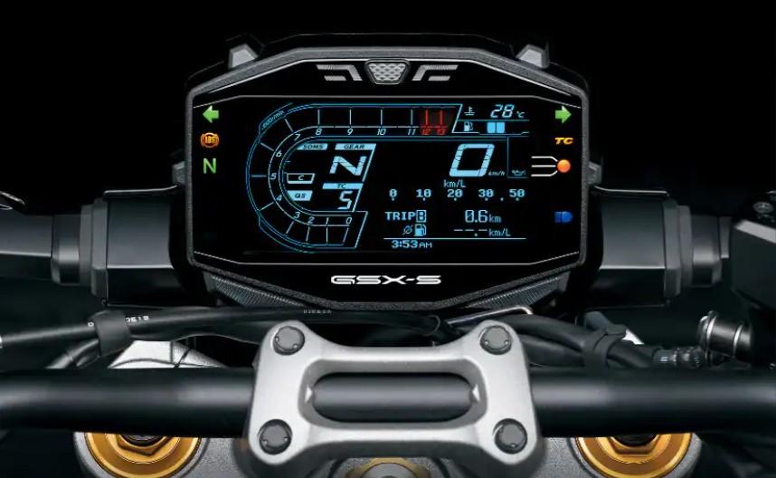 Suzuki GSX-S1000 speedometer