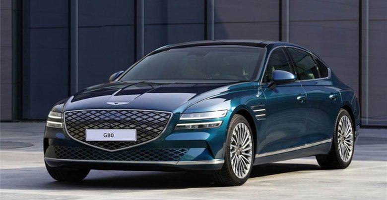 Genesis G80 electric car