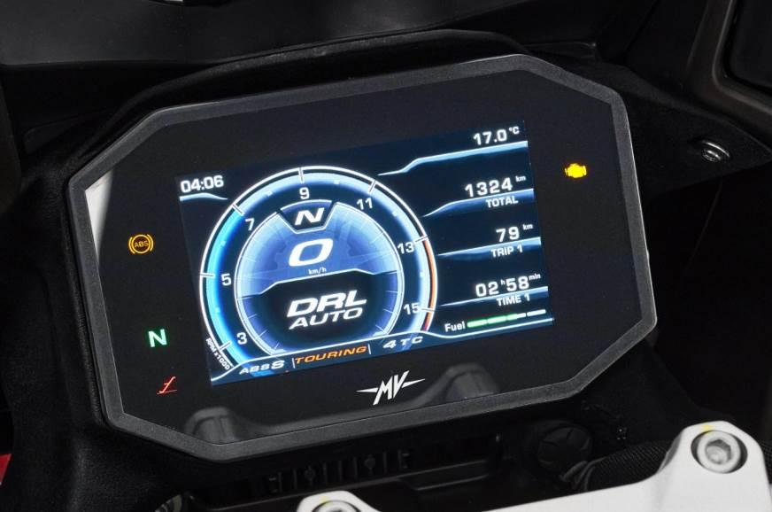 2021 MV Agusta Turismo Veloce 800 display