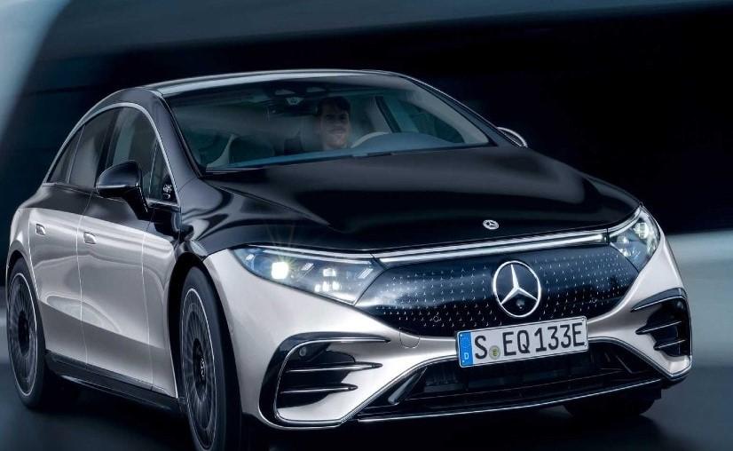 Mercedes-Benz EQS electric sedan